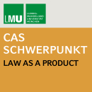 CAS Video-Logo – Law as a Product