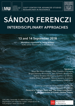 "Poster ""Sándor Ferenczi – Interdisciplinary Approaches"""