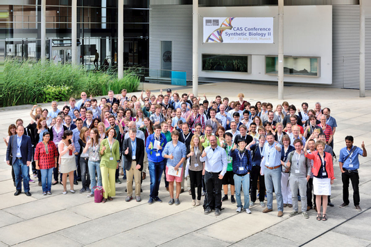"Gruppenfoto ""CAS Conference – Synthetic Biology II"""