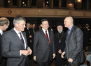 Präsident Bernd Huber, José Manuel Barroso, Erzpriester Apostolos Malamoussis, Vizepräsident Hans van Ess