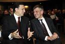 José Manuel Barroso und Bernd Huber