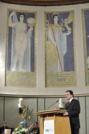 José Manuel Barroso in der Großen Aula