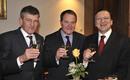 Bernd Huber, Wolfgang Heubisch, José Manuel Barroso